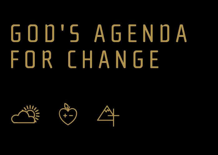God's Agenda for Change